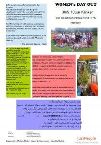Women's meeting Flyer